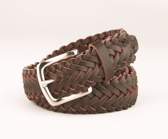"Picture of FB33 - 1"" Braided Belt"