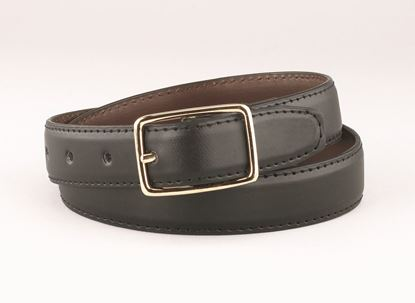 "Picture of FB33R - 1"" Black/Brown reversible belt"