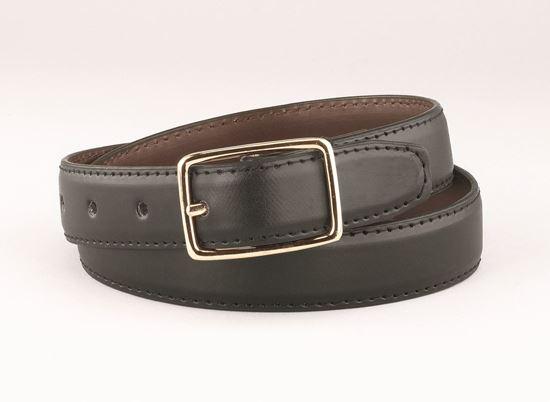 "Picture of FB33R - 1"" Black/Brown reversible belt"