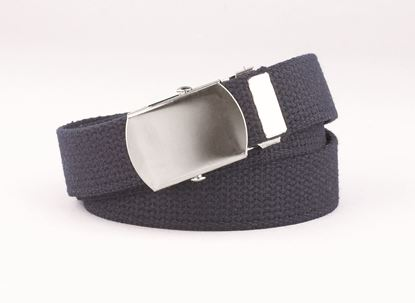 "Picture of FB35 - 1"" Webbed Belt with Military buckle"