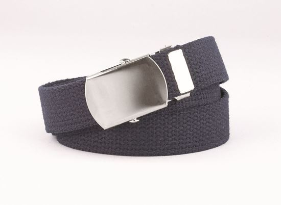 """Picture of FB35 - 1"""" Webbed Belt with Military buckle"""