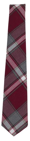 Picture of FBE42 - Plaid Men's 4 in hand Tie