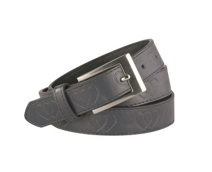 "Picture of FBE211 - 1"" Heart Embossed Girl's Belt"