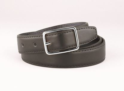 "Picture of FB33RL - 1 1/4"" Black/Brown Reversible belt."