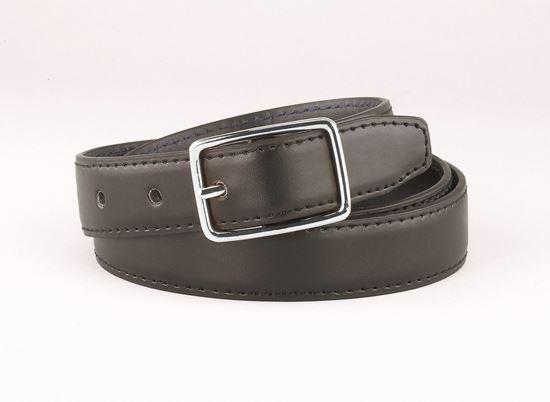 "Picture of FB33RL - 1 1/4"" Black/Brown Reversible belt."