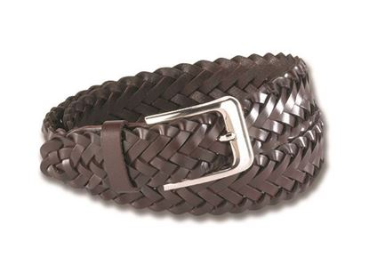 Picture of FBE207 - Genuine Leather Braided Belt