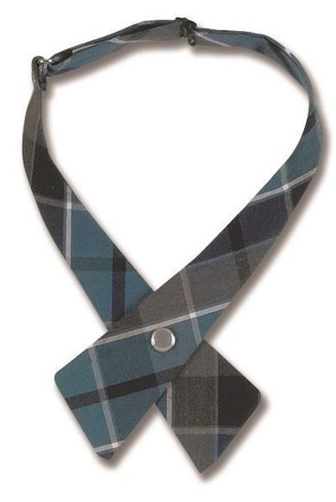 Picture of FBE43 - Girl's Plaid Cross Tie