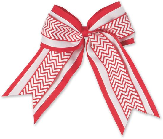 Picture of FBE500 - Chevron 3-layered Cheer Bow