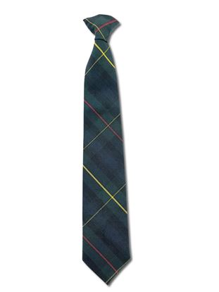 Picture of FBE222 - Clip-on Plaid Tie